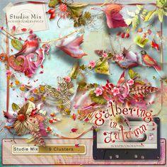 Scrapbookgraphics.com :: Collaborative Projects :: Studio Mix #76: Gathering In Autumn Clusters