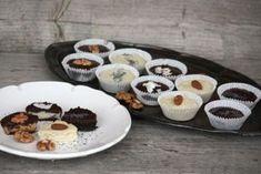 Šuhajdy orechové, kokosové a makové (zdroj: Naničmama. Something Sweet, Raw Food Recipes, Tiramisu, Cooking Tips, Cheesecake, Low Carb, Gluten Free, Pudding, Keto