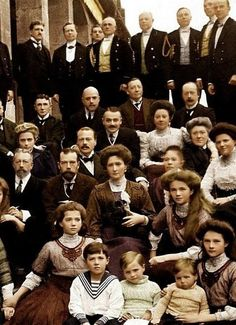 The Romanov family