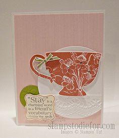 Tea Shoppe Stampin' Up! stamp set