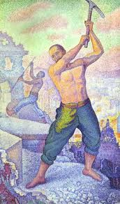 Paul Signac (French: 1863 – 1935) was a French neo-impressionist painter who, working with Georges Seurat, helped develop the pointillist style.