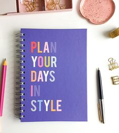 Agenda - Daily Planner - Plan in Style Planning Your Day, How To Plan, Day Planners