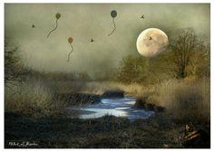 Kauf 'Melancholie' von Raven Art auf Leinwand, Alu-Dibond, (gerahmten) Postern und Xpozer.