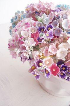 ♆ Blissful Bouquets ♆ gorgeous wedding bouquets, flower arrangements & floral centerpieces - pastel hues