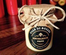 Rezept Knoblauch-Grundstock - Praktische Paste auf Vorrat von Olla di Bolla - Rezept der Kategorie Saucen/Dips/Brotaufstriche