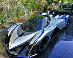The Devel Sixteen is a concept car that was unveiled at the 2013 Dubai International Motor Show and most of the specs still remain pretty secret. What we do know though is that under that hood is a sixteen cylinder engine capable of producing 5000 horsepower!  Acceleration: 0-100: 1.8s. Top Speed: 560 km/h (367 mph). Expected Price: $1 million.