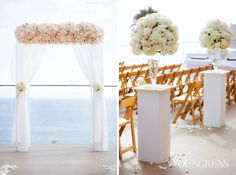 Surf and Sand Resort Wedding, Photography by The Youngrens