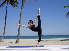 Standing Bow Pose: Dandayamana-Dhanurasana                                                          AKA: My favorite bikram pose!!!