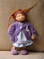 Clementine and Jojo (ac.maria) Tags: waldorf spielzeug puppe steiner waldorfdoll puppenkind waldorfpuppe stoffpuppe waldorftoy