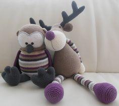 50 Beste Afbeeldingen Van Stip Haak Rendier Ralf Crochet Toys