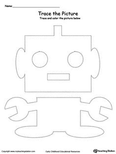 Robot Picture Tracing