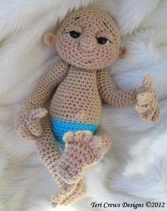 Baby Doll Crochet Patterns Free | So Cute Baby Doll Crochet Pattern