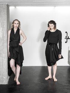 UNISEX fashion, LAURIJARVINENSTUDIO Eco Friendly Fashion, Unisex Fashion, Black Fabric, That Look, Goth, Unique, Collection, Design, Style