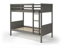 Manhattan Comfort Empire Solid Pine Wood Twin Size Bunk Bed