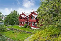 Private villa 1896 in Sandefjord, Norway