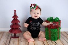 10 of the Cutest Holiday Onesies for Your Tiny Tot via Brit + Co.