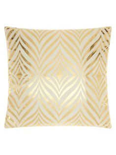 Luminescence Diamond Zebra Pillow from 72 New Arrivals: Decorative Pillows by Nourison on Gilt