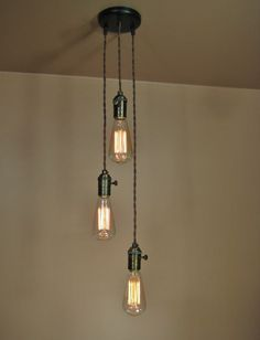 3 Light Cascading Chandelier