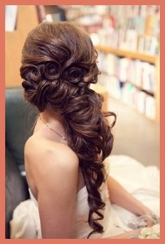 """We are swept away with the """"Swept Over"""" style this season.  It's why we made it one of our Top 5 Wedding Hair MUSTS for 2013.  We're in love."""