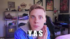 Make your own images with our Meme Generator or Animated GIF Maker. Jon Cozart, Youtubers, Memes, Random Stuff, Gifs, Image, Random Things, Meme, Presents
