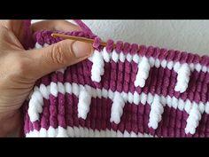 Diy Roman Shades, Crochet Patron, Diy And Crafts, Knitting, Pattern, Youtube, Tunisian Crochet, Knitting Patterns, Knitting And Crocheting