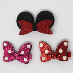 #Valentines #AdoreWe #Jane.com - #Crowns & Crystals Bow Hair Clips - AdoreWe.com