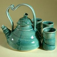 Teapot...How to Determine Suitability of Natural Clays for Making Pottery...