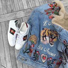 69e6b588e2f6 #TRENDINSPO: Gucci Floral SS16 🌺🌷🌸 | What's your thoughts? Gucci Denim