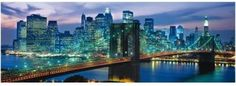 Loot.co.za - Toys: Clementoni Brooklyn Bridge Panoramic Puzzle (1000 Pieces) | Jigsaw Puzzles | Puzzles