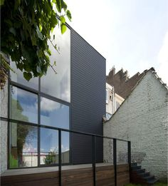 House J & M — Bruno Vanbesien Architect