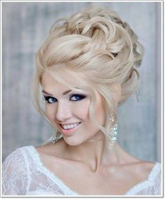 Amazing Wedding Makeup Tips – Makeup Design Ideas Evening Hairstyles, Bride Hairstyles, Hairstyles Haircuts, Hairstyle Pics, Bridal Hair Tips, Bridal Hair Updo, Hairstyle Wedding, Bride Makeup, Wedding Hair And Makeup