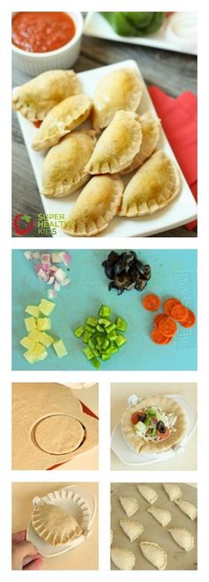 Freezer Pizza Bites.  Make them once and them have them for a super quick lunch or even pack them for a school lunch!  http://www.superhealthykids.com