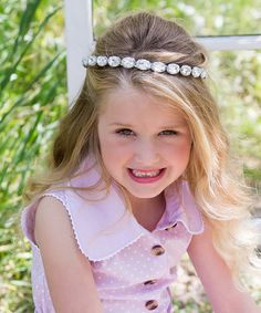 This Chunky Rhinestone Headband by Sweet Charlotte is perfect! #zulilyfinds