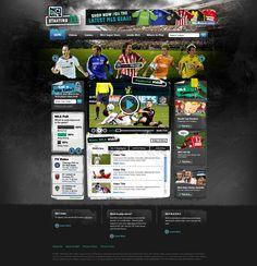 MLS - Starting 11 website design
