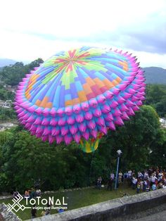 The Cantonese Balloons Festival in Zozocolco, Veracruz is about to begin ... want to join us?