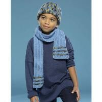 Premier® Blue Line Hat & Scarf Free Download