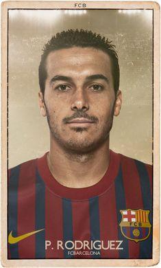 Pedro | Barcelona Vintage Oyuncu Kartları