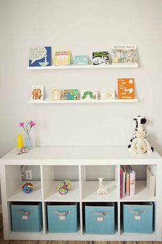 Storage Ideas For Rooms And Children's Playgrounds - jihanshanum Baby Boy Room Decor, Baby Room Design, Baby Boy Rooms, Baby Bedroom, Nursery Room, Girls Bedroom, Baby Cot Bumper, Baby Closet Organization, Big Girl Rooms