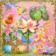 My Easter Art     Eastertime    GIF