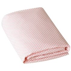 DwellStudio Crib Sheet Check Blossom  #LGRoselynNursery