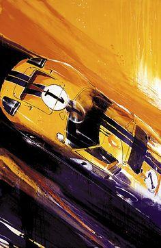 Ford GT by Camilo Pardo. (via Art — Camilo Pardo)