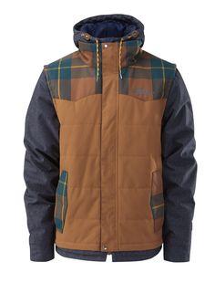 377418f0094 Garage 2 Insulated Snowboarding Jacket in Rusty  fbloggers Modern  Gentleman