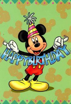 Birthday Pictures Cartoons New Ideas Disney Birthday Wishes, Happy Birthday Mickey Mouse, Happy Birthday Wallpaper, Happy Birthday Wishes Cards, Teacher Birthday Gifts, Cute Happy Birthday, Disney Wishes, Birthday Sentiments, Happy Birthday Pictures