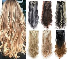 3 5 Days Delivery 24 inches Highlight Straight Wavy Curly Full Head Clip in Hair Extensions Women Lady Hairpiece Synthetic Hair Extensions, Clip In Hair Extensions, Hair Pieces, Your Hair, Highlights, Hair Cuts, Delivery, Curly, Hair Accessories