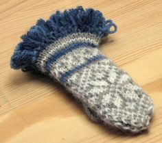 fair isle mittens pattern free - Google Search