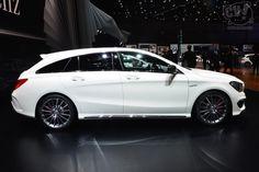 Mercedes-Benz CLA 45 AMG Shooting Brake @ Geneva 2015