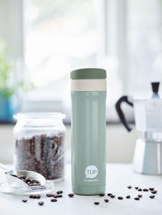 Stay warm or cool with our Thermal Flask that'll keep your tea, hot chocolate, and coffee hot or your ice water chilled! #Tupperware