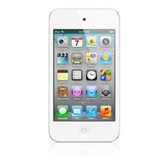 Apple iPod Touch 16GB White Model ME179LL/A (4th Generation) (Certified Refurbished)
