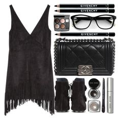 """Black Magic"" by itaylorswift13 ❤ liked on Polyvore featuring Zara, Isabel Marant, Bobbi Brown Cosmetics, Chanel and Givenchy"