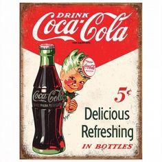 Coke sign 5 cents